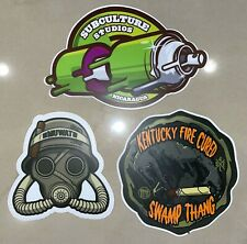 Drew Estate Subculture Studios Sticker Pack (3 Stickers) - Limited Edition