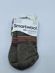 Smartwool Women's PhD Outdoor Light Mini Socks Taupe Sz M