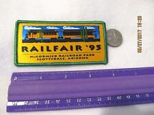 Patch Rail Fair 1995 McCormick Railroad Park Scottsdale Arizona Train USA