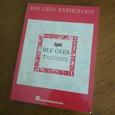 Bee Gees - Anthology - Vocal Piano Guitar songbook 43 songs