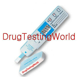 10 New Marijuana THC Urine Drug Test Strips - Free Shipping! DTH-114 IS1THC