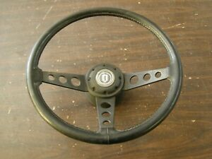 OEM Ford Mustang Truck Fairmont Sport Steering Wheel 1978 1979 + Button