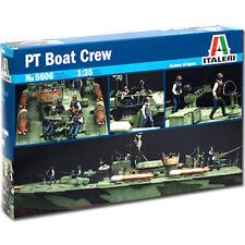 ITALERI Elco '80 PT Boat Crew 5606 1:35 Figures Model Kit