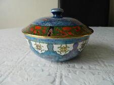 Vintage blue  Byzanta Ware bowl by Grimwades