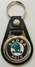 Skoda Logo Medallion Keyring, Brand New