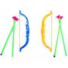 1 Carquois et 2 Flèches Ventouse Tir à l'Arc Jouet pour Enfant Plein Air Adresse