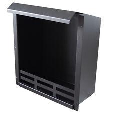 Camera di Combustione Bio Etanolo Gel Inserto per Camino nero 48,5 x 41 x 23 cm