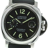 PANERAI Luminor Marina PAM00104 Black Dial Automatic Men's Watch_590009