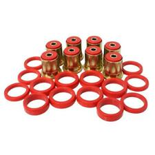 Energy Suspension Control Arm Bushing Kit 3.3132R; Red for Chevy, GM