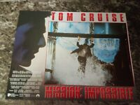 Mission Impossible lobby cards - Tom Cruise, Brian De Palma