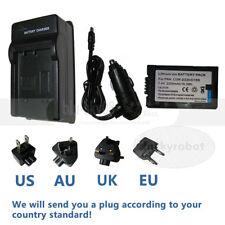 Battery + charger for Panasonic CGR-D16 PV-DC252 PV-DV52 PV-DV53 PV-DV73 DV102