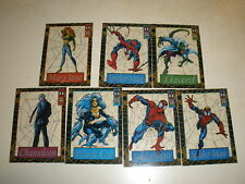 1994 Amazing Spider-Man Suspended Animation 7 Card Lot