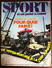 SPORT n°34 du 09/1971; Salon de l'auto/ Jeep Lunaire/ Tour de l'avenir/ Pingeon