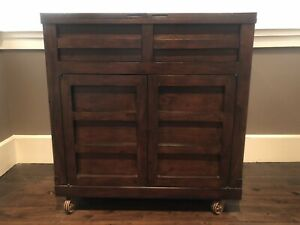 BAR DRINKS CABINET BY STANLEY FURNITURE (IMPORTED FROM USA) - MINT CONDITION