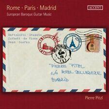 Pierre Pitzl - Rome Paris Madrid European Baroque Guitar Music [CD]