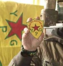 Anti-Isis Kurdish Freedom Fighter Lions of Rojava Yekîneyên Parastina Gel YPG ⭐