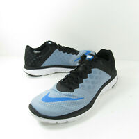 Nike FS Lite Run 3 Mens Size 10 Blue Black Athletic Training Road Running Shoes