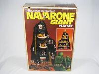 Vintage 1980 Mego Famous World War ll Battle of Navarone Battle Giant Playset