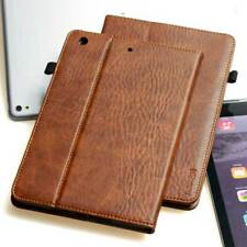 Luxury Leather Cover Apple iPad Mini 4 Protective Case Sleeve Tablet Brown