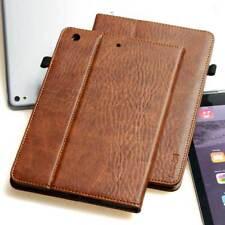 Lusso Pelle Cover per Apple iPad Air 2 Case Custodia protettiva tablet marrone