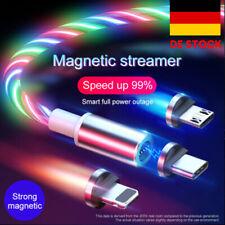 LED Magnetic 3 in 1 USB Ladekabel Streamer LED Magnetisches USB-Ladekabel