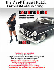 Costume Babe Brooke American Diorama 1:24 Resin Figure Sexy Girl Police