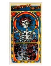 "(#116) Grateful Dead BERTHA 3-3/4"" x 5-1/2"" sticker (477) Roses ©GDP"