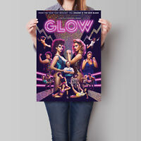 GLOW Poster 2017 TV Series Alison Brie Betty Gilpin 16.6 x 23.4 in (A2)