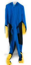 Disney Finding Dory Hooded Non Footed Pajamas One Piece -Size XL- Briefly Stated