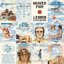 John Lennon / Plastic Ono Band SHAVED FISH 180g UNIVERSAL MUSIC New Vinyl LP