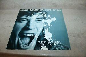 LP Jean-Louis Aubert 'n' ko - Platre et ciment (1987)