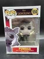 Funko Pop! Pumbaa #550 Disney The Lion King (Live Action)