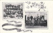 * MILITARE - 7° Regg.Fanteria Roma 1906 - La classe
