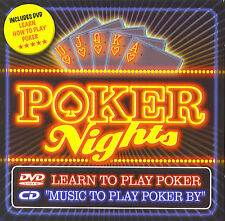 Poker nights : Music and Learn to play poker (CD + DVD)