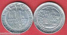 S77 SAN MARINO 5 LIRE 1977 IL CIELO, DA SERIE DIVISIONALE KM 65  FDC / UNC