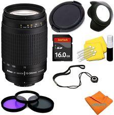 NIKKOR 70-300mm f4-5.6G Lens + 16GB KIT FOR NIKON D3100 D3200 D3300 D5000 D5100