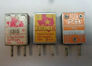 Frequency Crystals, 6m meter AM, CW for Johnson, Gonset or  Clegg