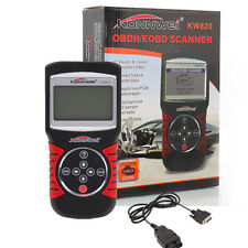 EOBD OBDII OBD2 Car Scanner Diagnostic Live Data Code Reader Check Engine KW820