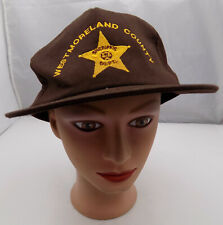Westmoreland County Sheriff's Dept Hat Snapback Baseball Cap Pre-Owned ST111