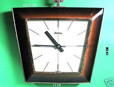 Pendule / Horloge murale vintage, clock,  Bodya germany