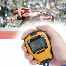 Digital Sports Timer Stopwatch 3 Rows 100 Laps 1/1000 Seconds