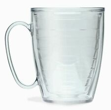 TERVIS Tumbler Clear 16 oz. MUG Coffee, Tea, Beer HOT or COLD NEW Insulated