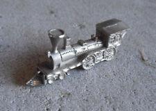 "1987 Cuter Pewter Train Locomotive Figurine 2 3/8"" Long"