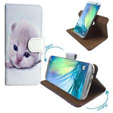 Samsung Galaxy Note 8 Duos - Handy Schutz Etui Tasche - 360° XL Katzen 1