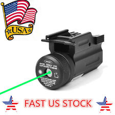 US Green Dot Laser Sight 20mm Picatinny QD Rail For Pistol Rifle G 17 19 22 Hunt