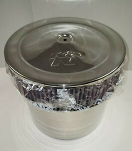 K&N AIR CLEANER CHROME VELOCITY STACK ASSEMBLY 58-1200