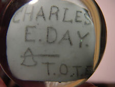 """Charles E. Day"" (T.O.T.E.).  EXCELLENT condition - South Jersey/Millville"