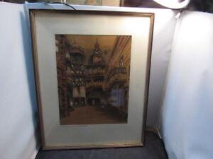 Albert A. Richter Painting cityscape listed Artist