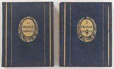 LA FRANCE TRAVAILLE HORIZONS DE FRANCE 1932 ET 1934 TOMES 1 & 2