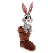 "Disney Store SLEEPING BEAUTY 10"" Forest Friend Plush Bunny Rabbit in Boot NEW"